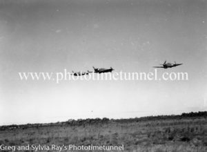 Spitfire fighters at Williamtown RAAF base Newcastle. April 1, 1943. (18)