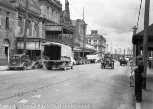Scott Street Newcastle, NSW. February 15, 1937