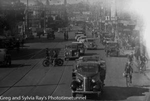 Hunter Street West, Newcastle, June 3, 1939.