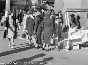 Not much to buy in wartime Newcastle, May 15, 1942.