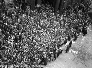 Parade for the return of the AIF's 9th Division in Sydney, April 2, 1943. (3)