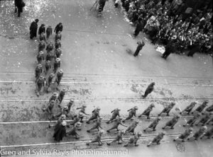 Parade for the return of the AIF's 9th Division in Sydney, April 2, 1943. (6)