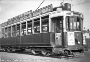 Tram at Wanganui, New Zealand, c1933. (2)