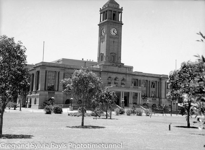 Newcastle City Hall on December 8, 1936. (2)