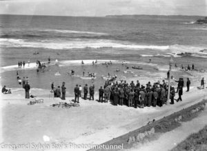 Opening of the Young Mariners Pool, Newcastle, NSW, September 25, 1937.