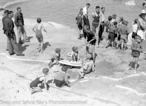 Opening of the Young Mariners Pool, Newcastle, NSW, September 25, 1937. (5)