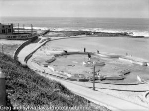 The Young Mariners Pool and Canoe Pool, Newcastle, NSW. Circa 1940.