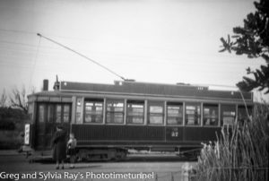 Tram at Wanganui, New Zealand. (2)