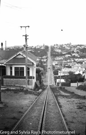 Cable tramway, Dunedin, New Zealand, c1933.