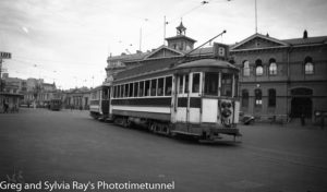 Trams in New Zealand.