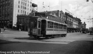 Tram in Auckland, New Zealand. (2)