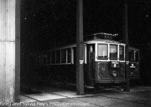 Tram at Wanganui, New Zealand, c1933. (3)