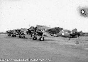 Bristol Beaufighter aircraft at Williamtown RAAF base, Williamtown.