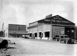 Dark's Ice Works, Wharf Road Newcastle, circa 1934