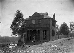 Epping Post Office, NSW, early 20th century.
