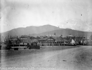 View of Hobart, Tasmania, early 20th century.