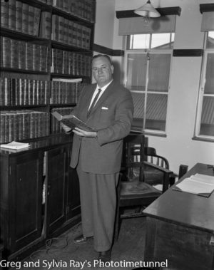 Bert James, Labor MP for the federal seat of Hunter. August 12, 1961.
