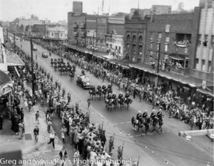 Royal visit, Hunter Street Newcastle, 1954.