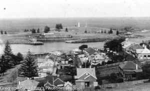 Kiama, NSW South Coast, circa 1920.
