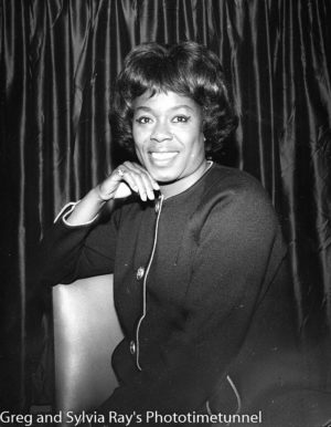 American jazz singer Sarah Vaughan in Sydney, June 4, 1965. (2)