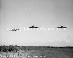 Spitfire fighter planes at Williamtown RAAF base, Newcastle. (3)