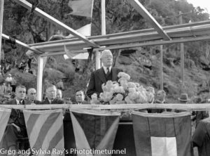 Official opening of the road bridge over the Hawkesbury River, May 5, 1945. (2)