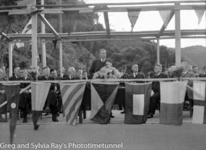 Official opening of the road bridge over the Hawkesbury River, May 5, 1945. (3)