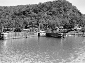 Hawkesbury River vehicular ferry, April 12, 1937. (4)
