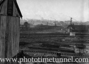 Woodville Junction, near Newcastle, NSW, June 15, 1938.