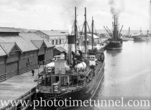 Ship Broadway in Newcastle Harbour, October 1935. (1)