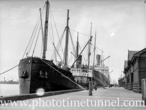 Ship Broadway in Newcastle Harbour, October 1935. (2)