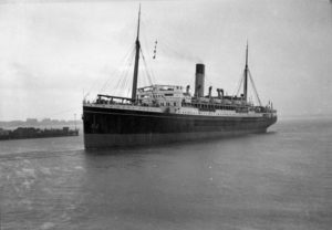 Ship Karoola in Newcastle Harbour, NSW, April 6, 1937. (2)