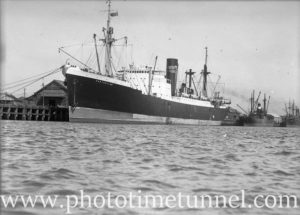 Ship Perthshire in Newcastle Harbour, August 18, 1937. (3)