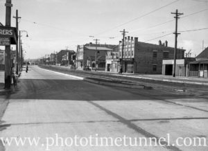 Tudor Street, Hamilton, Newcastle, NSW, May 12, 1938.