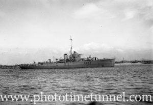 HMAS Condamine in Newcastle NSW, February 20, 1946.