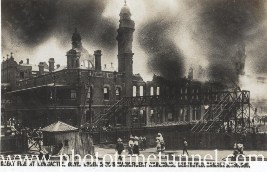 The David Cohen warehouse blaze of 1908