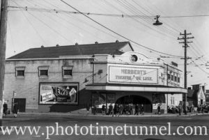 Herbert's Theatre Deluxe, Broadmeadow, Newcastle, NSW, April 10, 1941.