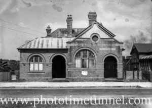Old Stockton Post Office, Stockton (Newcastle NSW), March 1, 1945.