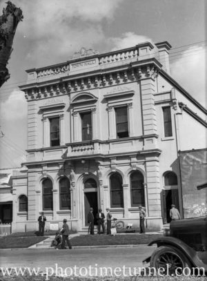 Town Hall Wallsend, Newcastle, NSW, April 11, 1946.