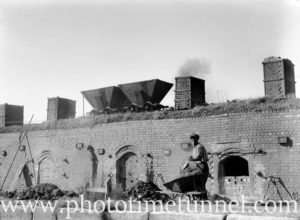 Coke ovens at Wallsend, Newcastle, NSW, June 11, 1947. (4)