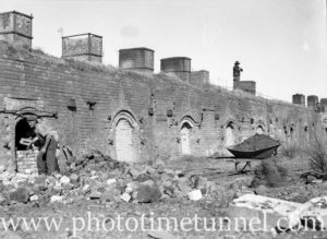 Coke ovens at Wallsend, Newcastle, NSW, June 11, 1947. (5)
