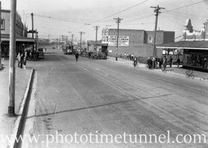 Maitland Road, Mayfield, Newcastle, near the Havelock Street intersection, May 20, 1939. (1)