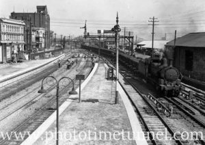 Locomotive 5070 at Newcastle, NSW, March 26, 1936.