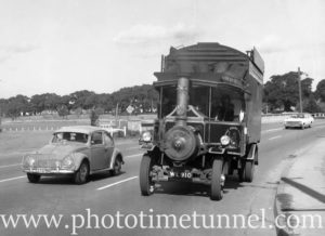 A tale of two world tours: the MGM trackless train and the steam truck Britannia
