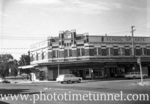 Cessnock School of Arts, NSW, 1968.