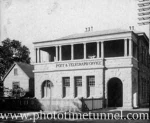 Manly Post and Telegraph Office, NSW. Circa 1920.