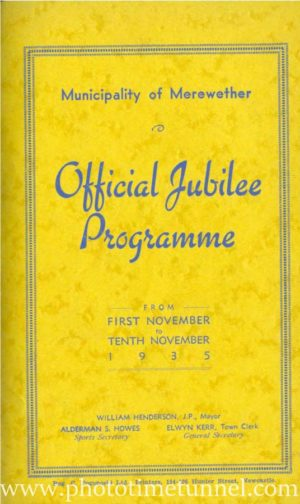 Merewether jubilee booklet, 1935. (PDF booklet download)