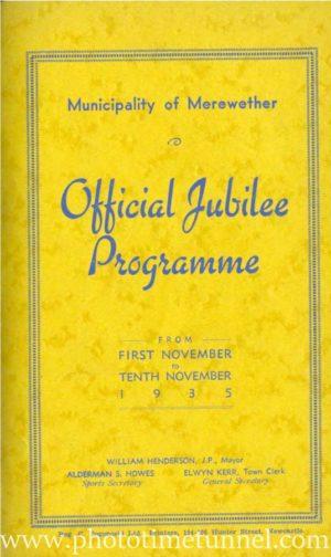 Merewether jubilee booklet, 1935. (PDF booklet download)