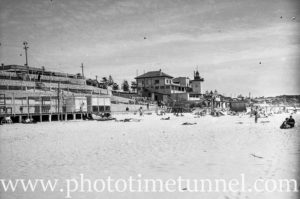Cottlesloe Beach Perth, WA, 1936.