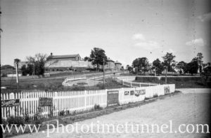 View of East Maitland Gaol, NSW, circa 1930s.